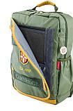 Рюкзак подростковый CA 076, зеленый, 29*43*12, фото 6