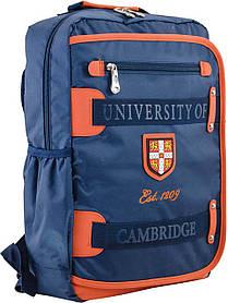 Рюкзак подростковый CA 076, синий, 29*43*12
