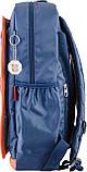 Рюкзак подростковый CA 076, синий, 29*43*12, фото 3