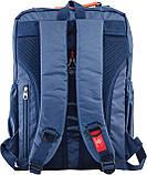 Рюкзак подростковый CA 076, синий, 29*43*12, фото 4
