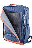 Рюкзак подростковый CA 076, синий, 29*43*12, фото 6