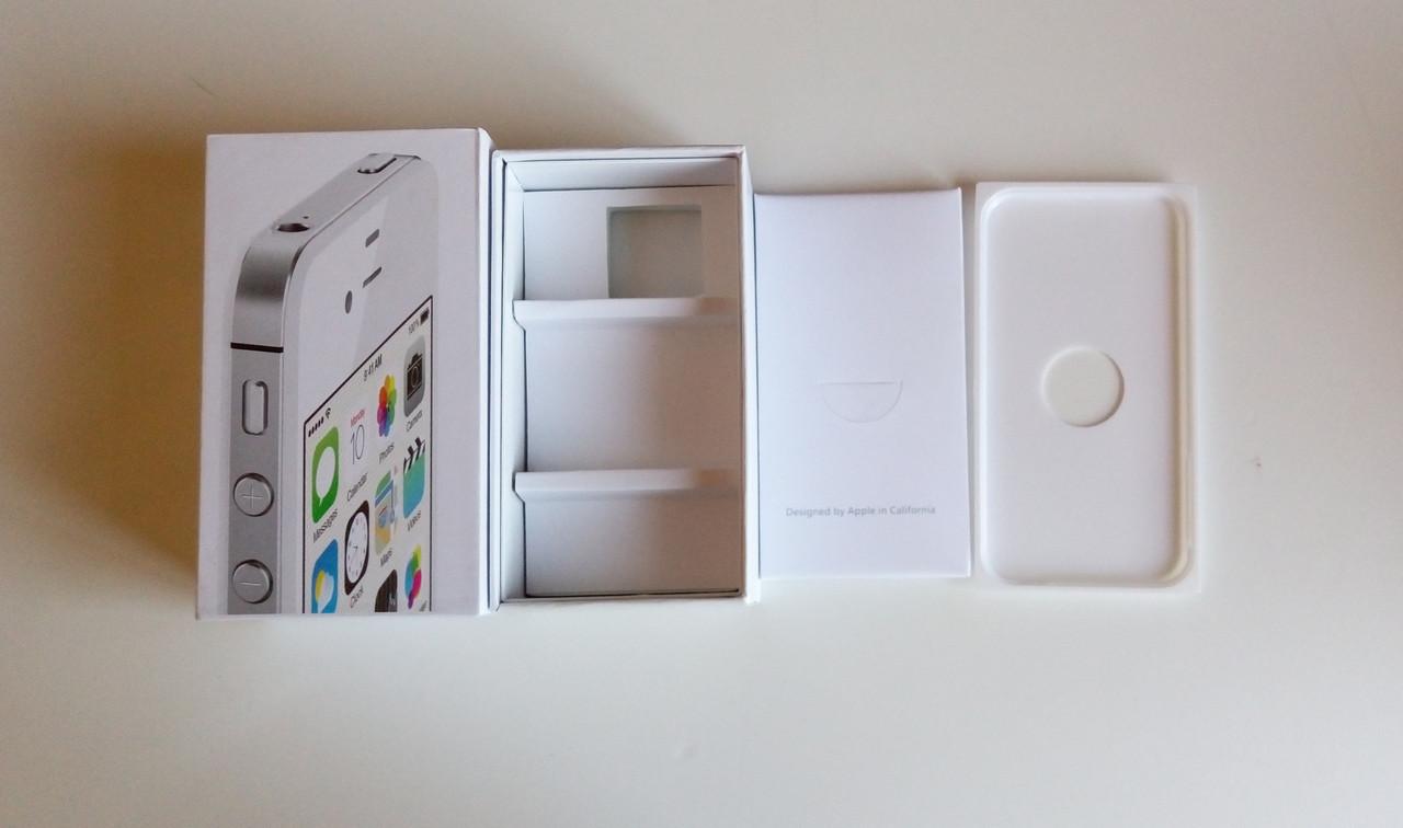 Коробка для Apple iPhone 4S white