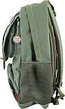 Рюкзак подростковый CA 080, зеленый, 31*47*17, фото 3