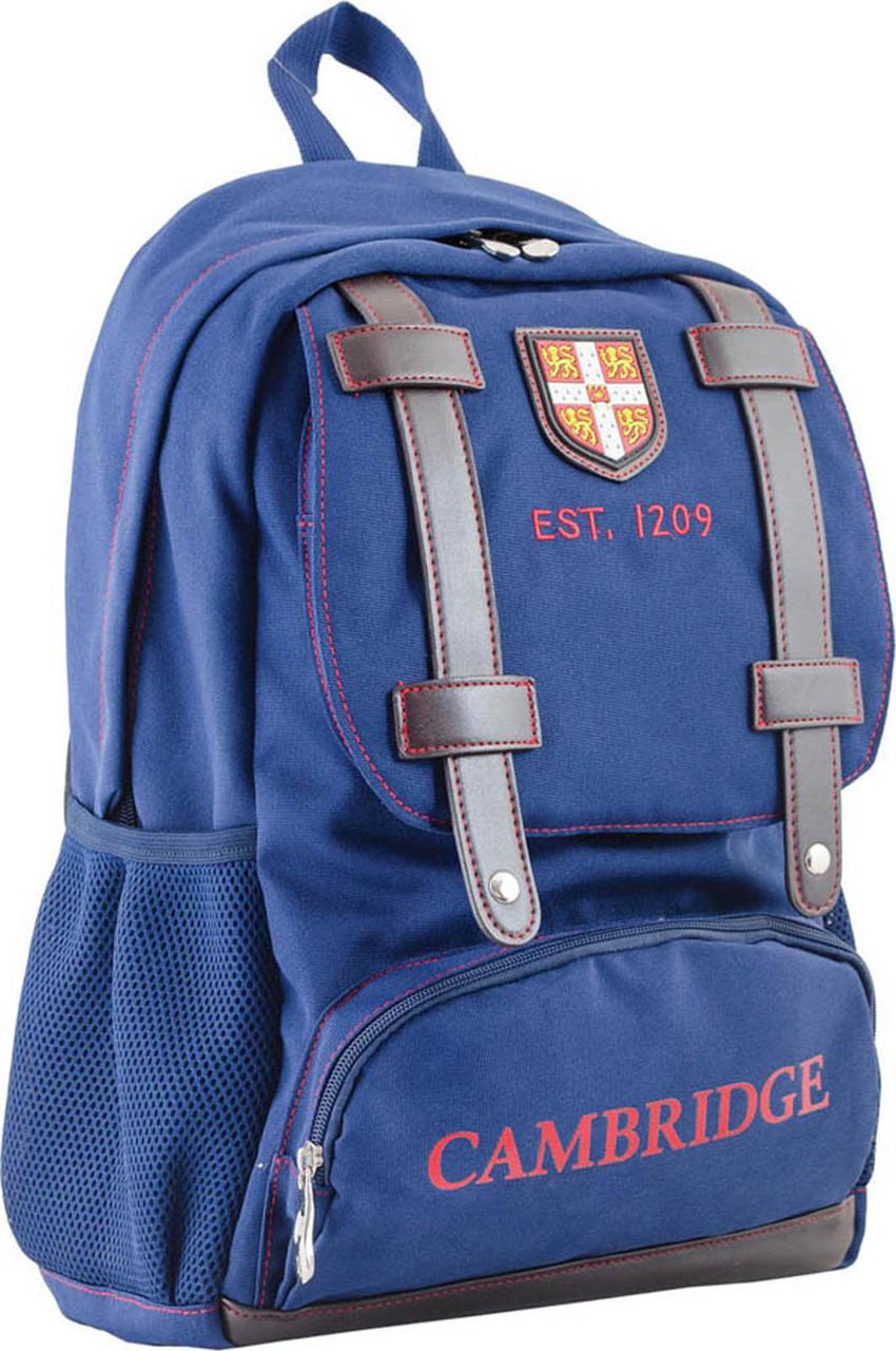 Рюкзак подростковый CA 080, синий, 31*47*17