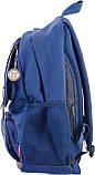 Рюкзак подростковый CA 080, синий, 31*47*17, фото 3