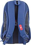 Рюкзак подростковый CA 080, синий, 31*47*17, фото 4