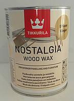 Tikkurila Nostalgia База ЕP, Тиккурила масло воск для дерева(бесцветный) 0,9л