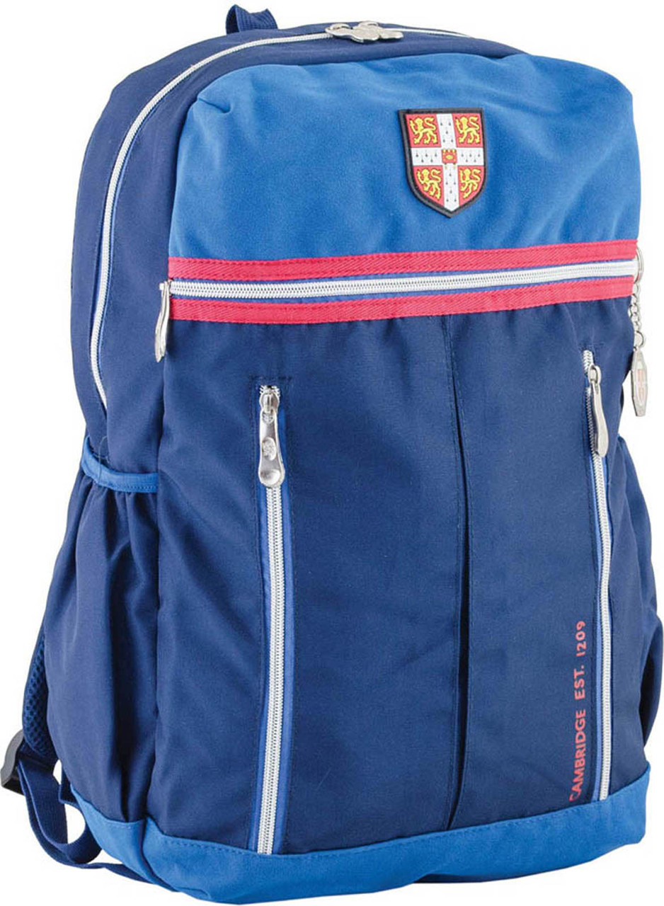 Рюкзак подростковый CA 095, синий, 45*28*11