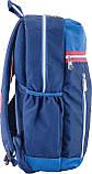 Рюкзак подростковый CA 095, синий, 45*28*11, фото 2