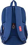 Рюкзак подростковый CA 095, синий, 45*28*11, фото 4