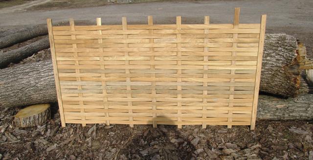забор дубовый недорого шпон дуб плетеный