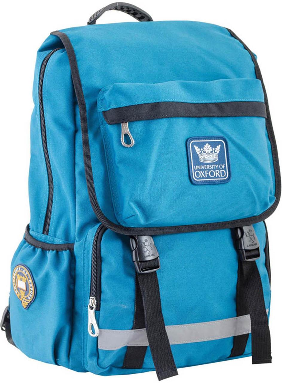 Рюкзак подростковый OX 228, бирюзовый, 30*45*15