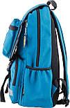 Рюкзак подростковый OX 228, бирюзовый, 30*45*15, фото 3