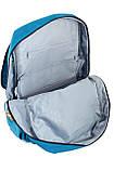 Рюкзак подростковый OX 228, бирюзовый, 30*45*15, фото 5