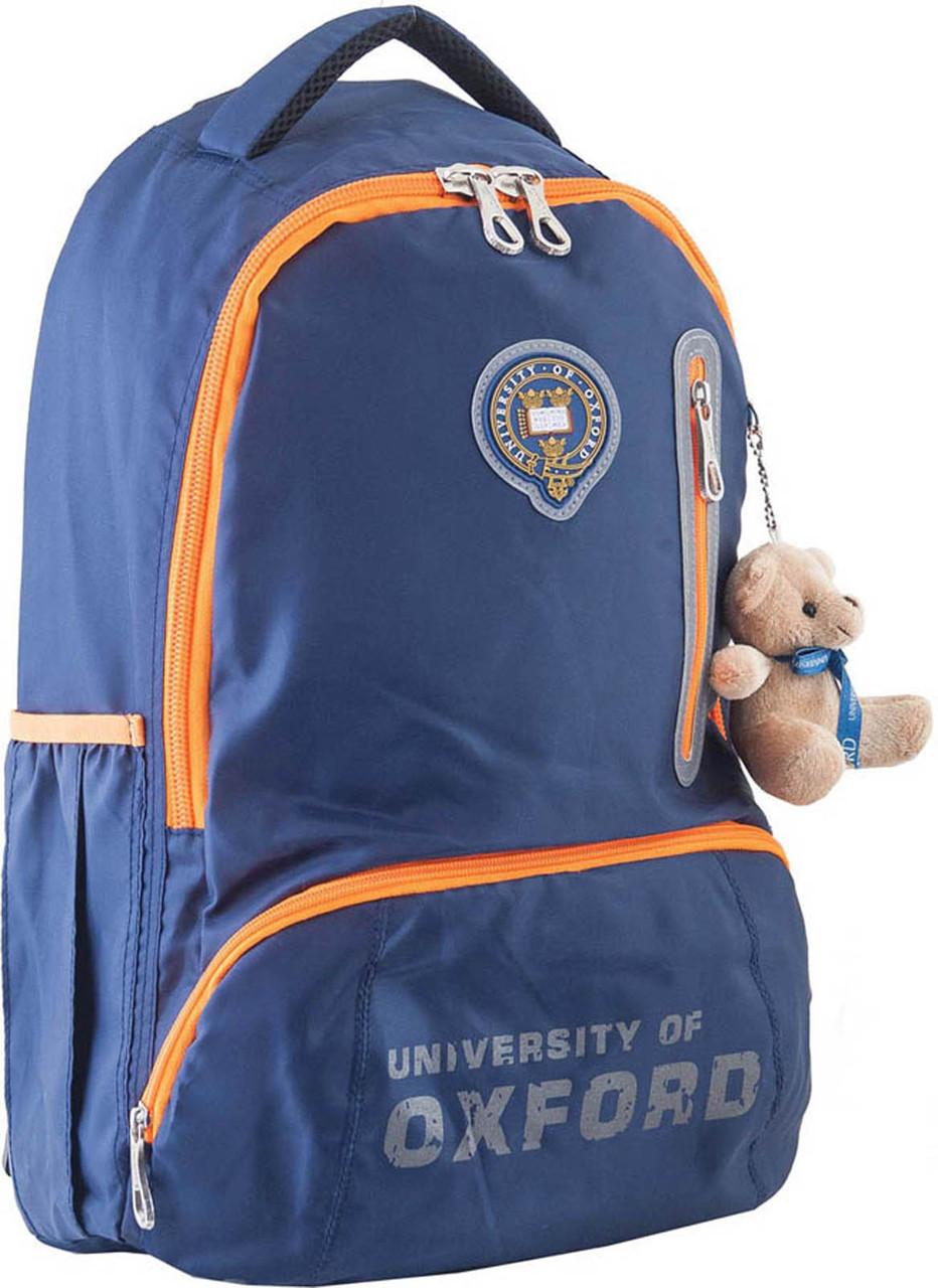 Рюкзак подростковый OX 280, синий, 29*45.5*18