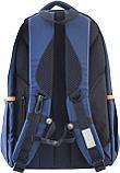 Рюкзак подростковый OX 280, синий, 29*45.5*18, фото 4