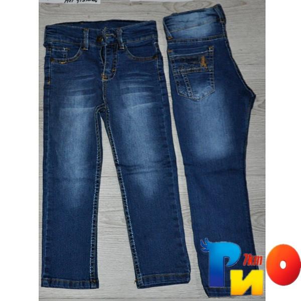 Весенние детские джинсы без утяжки (стрейч) для мальчиков 8-12 лет (5 ед в уп)
