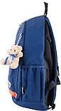 Рюкзак подростковый OX 288, синий, 30.5*46.5*17, фото 3