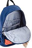 Рюкзак подростковый OX 288, синий, 30.5*46.5*17, фото 5