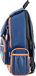 Рюкзак подростковый OX 293, синий, 28.5*44.5*12.5, фото 3