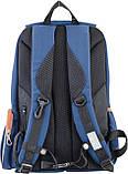 Рюкзак подростковый OX 293, синий, 28.5*44.5*12.5, фото 4