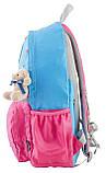 Рюкзак подростковый OX 311, голубой-розовый, 29*45*13, фото 3