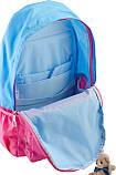 Рюкзак подростковый OX 311, голубой-розовый, 29*45*13, фото 5