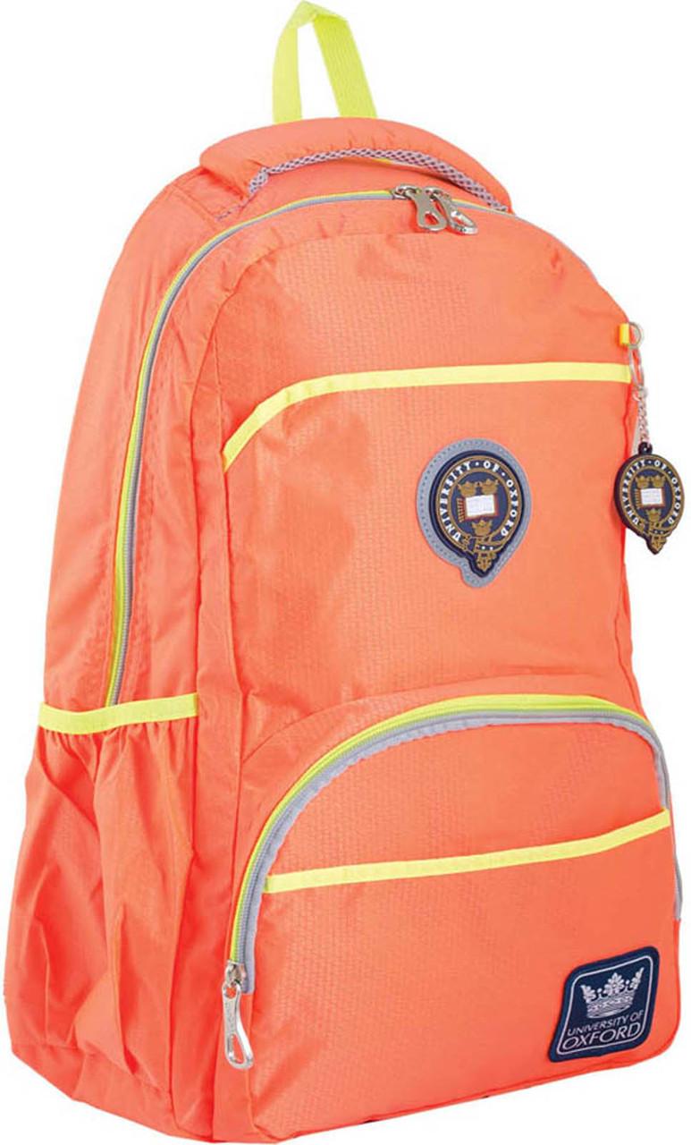 Рюкзак подростковый OX 313, оранжевый, 31*47*14.5