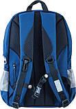 Рюкзак подростковый OX 316, синий, 30.5*46.5*15.5, фото 4