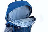 Рюкзак подростковый OX 316, синий, 30.5*46.5*15.5, фото 5