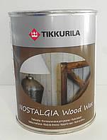 Tikkurila Nostalgia Raisin, Масло воск для дерева Тиккурила ностальгия (Изюм) 1л