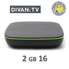 DIVAN TV BOX 216 | медиаплеер с подключением и подпиской на любой пакет Divan !