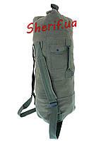 Баул армейский (сумка-рюкзак) MIL-TEC морской US с 2 лямками OLIVE 13853001