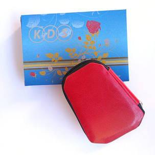 Манікюрний набір KDS 04-7103 (червоний чохол), фото 2