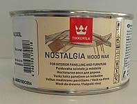 Tikkurila Nostalgia Raisin (Изюм), Масло воск для дерева Ностальгия  0,333л