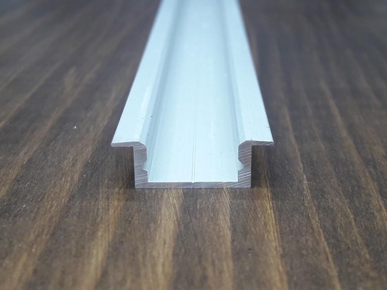 Алюминиевый профиль врезной для Led ленты. BLL 1202 анод. L-3метра