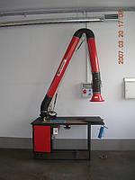 Стол сварщика с встроенной вытяжкой Klimawent ERGO-STW-R