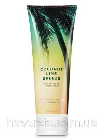 Увлажняющий крем для тела Bath Body Works - Coconut Lime Breeze (США)