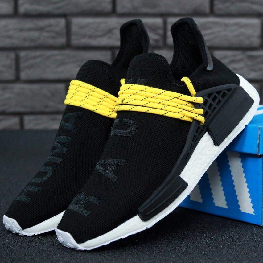Мужские кроссовки Adidas NMD Human Race x Pharrell Williams Black