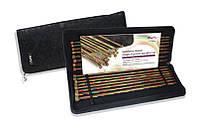 20228 Набір дерев'яних прямих спиць 35 см. Symfonie Wood KnitPro