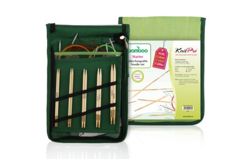 22541 Набір знімних спиць для початківців Bamboo KnitPro
