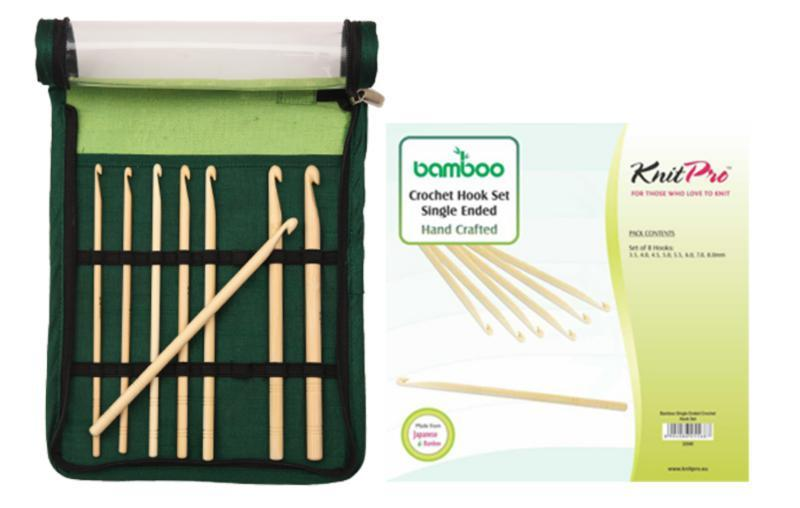 22549 Набір гачків Bamboo KnitPro
