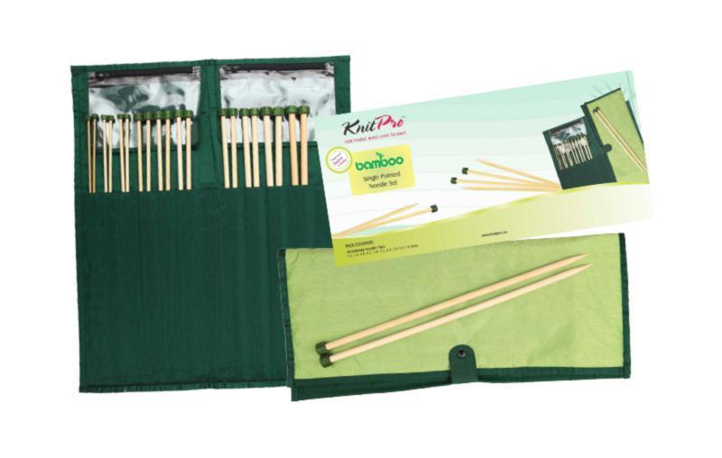 22551 Набір прямих спиць 33 див. Bamboo KnitPro