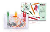 50617 Набор съемных акриловых спиц Chunky Multi-Colored Spectra Flair Acrylic KnitPro