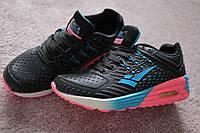 Женские кроссовки  Asics style Black  pink blue 37-38 качество