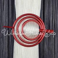 Заколка для штор нитей Круг №11 Красный, фото 1