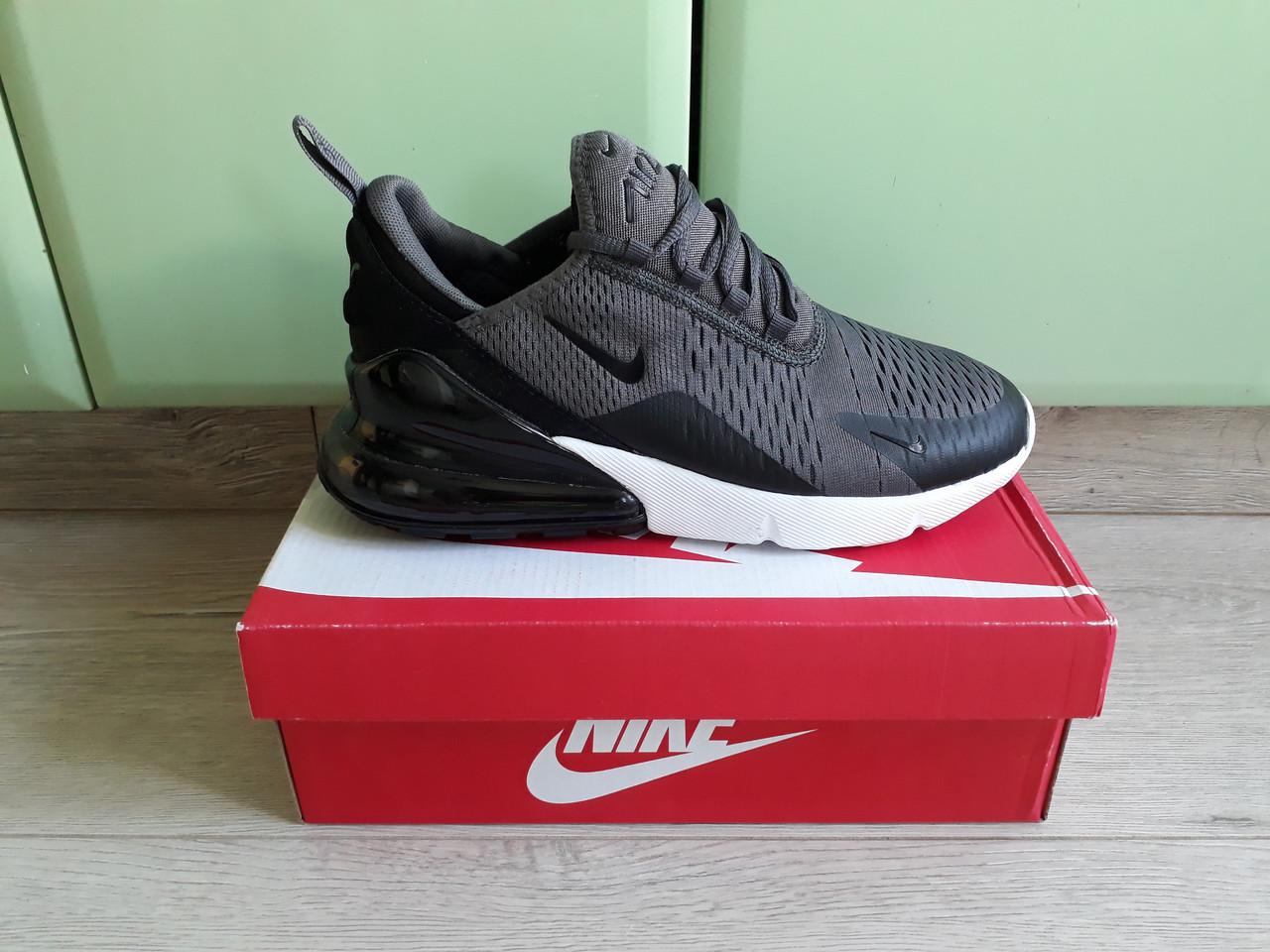 1058d033c1dfa3 Мужские кроссовки Nike Air Max 270 Grey/White топ реплика, много цветов в  наличии