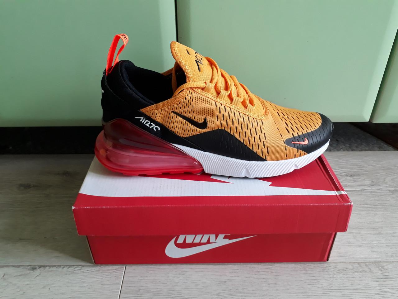 e34e9f1aef63db Мужские кроссовки Nike Air Max 270 Tiger топ реплика, много цветов в  наличии! -