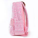 Рюкзак подростковый ST-28 Pink, 35*27*13, фото 2