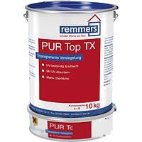 2-компонентный матовый полиуретановый структурный запечатывающий лак PUR TOP TX